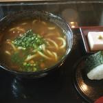 西利 - カレーうどんと生胡麻豆腐