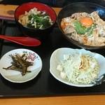 75953661 - 親子丼とミニうどん