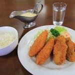 大宝亭 - 料理写真:クリームコロッケ&牡蠣フライ