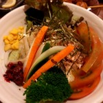 居酒屋ビッグ 上板橋店 - 梅サラダ