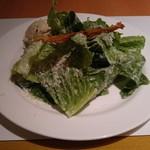 SATSUKI - シーザーサラダのツナ添えです。ツナのペーストとシーザーサラダドレッシング、チーズのかかったレタスがベストマッチでした。