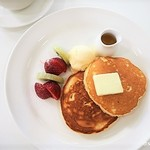 カフェ・ド・シナモニ - 料理写真:パンケーキメイプル1050円
