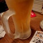 酒町ちゅうじろう - 最初の一杯