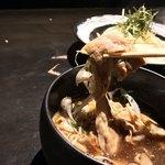 落日酒楽 - 落日酒楽(ひはおちて さけたのし)(東京都武蔵野市境南町) 武蔵野 肉汁つけうどん