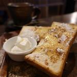 Cafe Chienomi - シナモントースト
