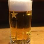 みやぎ - ドリンク写真:生ビール550円