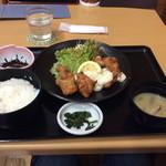 道の駅 北川はゆま - チキン南蛮定食