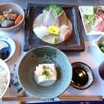 和食茶房 風の彩 - 和御前 彩 ¥1800+税