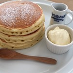 ハナミズキ カフェ - クラシックパンケーキ