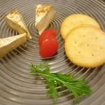たべごとや 艸 - カマンベールチーズのもろみ漬
