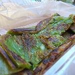 目黒菜館 - ホウレンソウ油餅