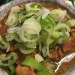 肉おでん まるちゃん - おでん出汁のカレーもつ煮