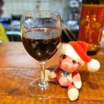 深夜プラス1 - 赤グラスワイン