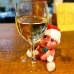 深夜プラス1 - 白グラスワイン