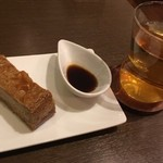 カフェ ヌック - 珈琲ベイクドチーズケーキ、ハーブティー
