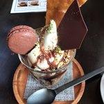 CAFE ARCA&CO. - チョコパフェ