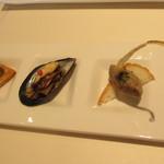 ブラッスリー アミカル - ガレット・コースの前菜