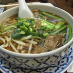 75970891 - 煮込み牛肉入りスープ麺