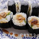 松原亭 - 名物 フォアグラの巻き寿司
