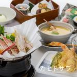 西村屋 和味旬彩 - かにたっぷりの贅沢ランチ『かに天ぷらとかにすき膳』