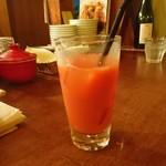75973760 - ブラッドオレンジジュース