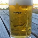 たぬきや - 生ビール500円