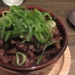 肉洋食オオタケ - すじの味噌煮込み