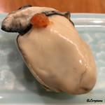 小じま - 牡蠣 昆布〆