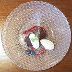 ビストロ シロ - ランチコース 3780円 のガトーショコラクラシック