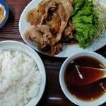 萬友亭 - 焼肉定食¥1000