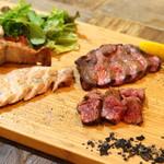 bowl - 熟成肉の盛り合わせ