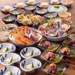 北の味紀行と地酒 北海道 - 飲み放題付6500円コース(税込)