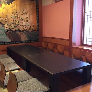 【個室】堀ごたつ、テーブル席とお客様の好みに合わせた空間