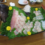 料理旅館 ひさだ - 石垣鯛とヒラメ いか