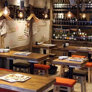 現代の酒場と寿司屋が見事に融合!