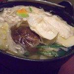 お食事処 明日香 - 生ゆば入鍋定食