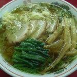 バリバリラーメン - チャーシューメン(にんにく入り)
