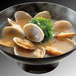 平禄寿司 - 回転寿司によくあうあさり味噌汁(みそしる)