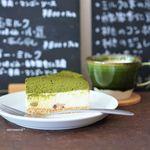 ひだまり菓子店 - 料理写真:抹茶ミルクチーズケーキ、コーヒー