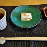 和み茶屋 - [料理] 引き上げ湯葉 全景♪w