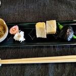 和み茶屋 - [料理] 前菜 プレート全景♪w