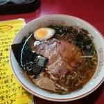らーめん武蔵 - 武蔵醤油
