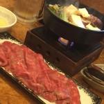 惣吉 - A5黒毛和牛すき焼き鍋