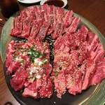 焼肉 八虎 - 大皿