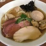 らぁ麺 川たか - 特製 ホンビノス貝らあ麺