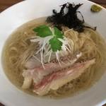 らぁ麺 川たか - 真鯛の塩らあ麺