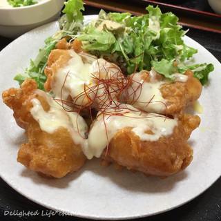 定食屋さん千 - からあげチーズ定食(800円税込)