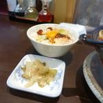 チャイニーズダイニング方哉 - XO醤卵かけごはん150円