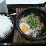 肉まる商店 - 17/10 肉吸い定食:690円