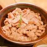 炭火焼肉 なかはら - 料理写真:牛丼